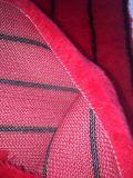 Red Black Line Panint Tecido do Rolete