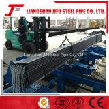 Línea de soldadura del tubo del acero con poco carbono