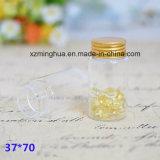 Frasco de vidro Refillable das tampas de Alu para doces