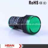 HBAN RoHS del CE (22 mm) Hbad16-22D Lámpara Piloto
