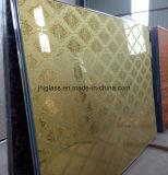 Het Marmeren Glas van de spiegel, het Glas van de Kunst, Achter het Schilderen Glas voor het Verfraaien