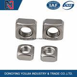 Noix carrées M3-M24 d'acier inoxydable
