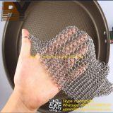 鍋の鍋の洗剤のステンレス鋼のChainmailのスクラバー