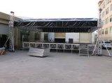 Ферменная конструкция крыши случая этапа освещения винта алюминиевого сплава представления