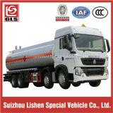 Caminhão de tanque do líquido inflamável do chassi de Camc 8X4