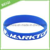 Braccialetto del silicone reso personale marchio personalizzato professionista della fascia di manopola del silicone
