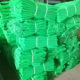Verde, Azul, 100% Virgin HDPE Construction Building Safety Barrier Net, andaimes (andaime) Rede, Debris Net, PE Shading (sombra) Rede