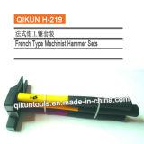 H-216 строительного оборудования ручных инструментов французского типа в Machinist молоток с ручкой из стекловолокна