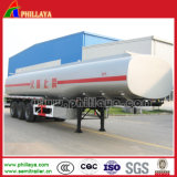 réservoir de combustible dérivé du pétrole du camion 3axles lourd pour semi la remorque