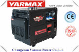 세륨 ISO9001 Ym10000t를 가진 Yarmax 6kw7kw 최고 침묵하는 디젤 엔진 Genset