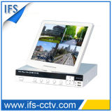 H., 264 Cambo Standalone DVR mit LCD (ISR-LCD204W)