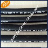 SAE100 tuyau hydraulique de fil de R17 1 haut flexible ou 2