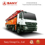 Sany 56m Veículo montado na bomba de Concreto Putzmeister Bomba concreto estacionária
