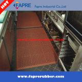 Couvre-tapis en caoutchouc antidérapage universel d'étage de résistance de pétrole d'évacuation lourde
