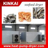 Type neuf machine de séchage de crevette économiseuse d'énergie de poissons