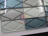 Mosaik-Fliesen des Wand-Dekoration-Spritzen verwendete Glasziegelstein-3D (CFC687)