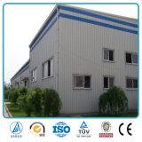 Entrepôt préfabriqué de l'espace de grande envergure de structure en acier de bâti