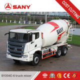 Sany Sy204c-6 4m3 4개 입방 미터 인도에 있는 판매를 위한 작은 구체적인 트럭 믹서
