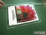 LED Crystal Light Box met Magnetic Cover (mdclb-A2)
