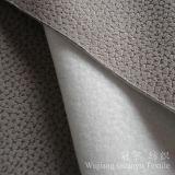 Tessuto impresso del cuoio del poliestere della pelle scamosciata con protezione spazzolata