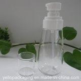Bottiglia cosmetica della plastica della bottiglia del vaso di plastica vuoto di buona qualità