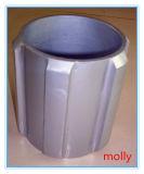 Centralizador rígido de alumínio do corpo contínuo do poço de petróleo