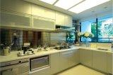 Gabinete de cozinha de madeira Yb1707011 da laca moderna nova da alta qualidade