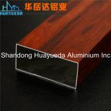 Puertas de aluminio y Windows del perfil del grano de madera