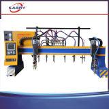Taglierina d'acciaio del plasma di CNC per il piatto