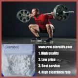 Polvo blanco oral Bodybuilding Dianabol de los esteroides anabólicos del 99%