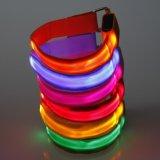 Braccialetto corrente su ordinazione del braccialetto LED di marchio LED