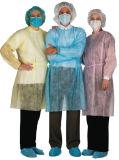 Pp.-nichtgewebtes überzogenes wasserdichtes gelbes Lokalisierungs-Kleid
