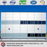 Immeuble de bureau léger préfabriqué de bâti en acier