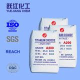 세라믹스를 위한 98% Highpurity 이산화티탄 및 SGS (A100)를 가진 사기질