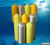 Bombole per gas di alluminio dell'HP del grande volume