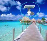 安いLEDの太陽動力を与えられた庭ライト暖かい白