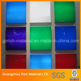 Colorare lo strato acrilico di plastica del plexiglass PMMA per i prodotti di illuminazione del LED