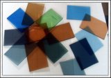 """vetro """"float"""" tinto vetro grigio Bronze di colore rosa di verde blu di 3-8mm"""