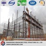 Peb Stahlkonstruktion-verschüttete hohe Anstieg-Werkstatt mit Kran