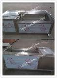 Nettoyage chaud de gingembre du SUS 304 de vente et machine d'écaillement