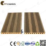 木製のプラスチックWPC Deckingのボード装飾的なWPCのDeckingのフロアーリング(TS-04A)