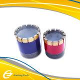 Morceaux de foret imbibés par tube simple de diamant