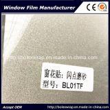 Película auta-adhesivo de la ventana de la chispa de la película decorativa de la ventana para la decoración casera