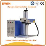 Markierungs-Gravierfräsmaschine der Minifaser-20W bewegliche für Metall