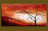 Canvas (LA1-026)에 새로운 Design Art Work Landscape Painting