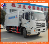 Dongfeng 4X2 moyen de 5 tonnes 8 tonnes de camion à ordures compacteur de déchets chariot