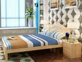 Festes hölzernes Bett-moderne doppelte Betten mit preiswertem Preis (M-X2360)