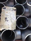 Stuiklas, de T-stukken van het Roestvrij staal 304/316/304L/316L