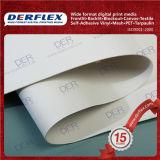 용해력이 있는 인쇄 PVC 방수포 직물