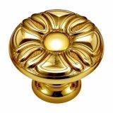 Lo stile antico ha forgiato la maniglia d'ottone di tiro del Governo della mobilia